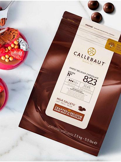 Chocolate Negro con Leche Callebaut, Recipe N°823 x 2,5 kg