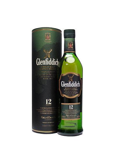 Malta Glenfiddich 12 años