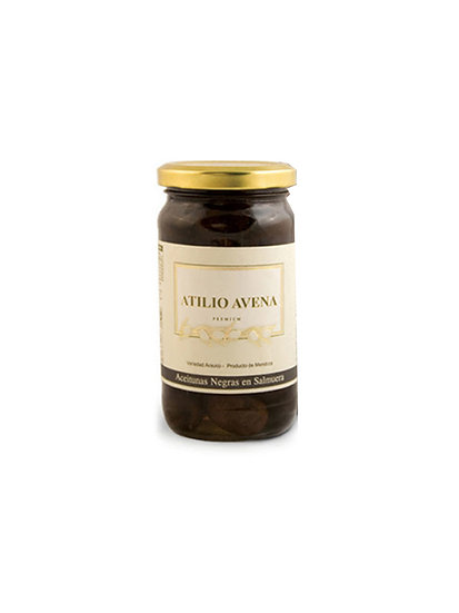 Aceitunas Negras Atilio Avena x 200 g