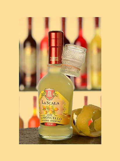 Licor de limoncello - La Scala x 250 ml