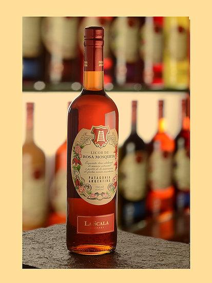 Licor de rosa mosqueta - La Scala x 750 ml