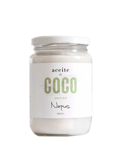 Aceite de Coco Neutro x 660 ml