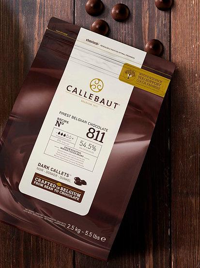 Chocolate Negro Callebaut, Recipe N°811 x 2,5 kg