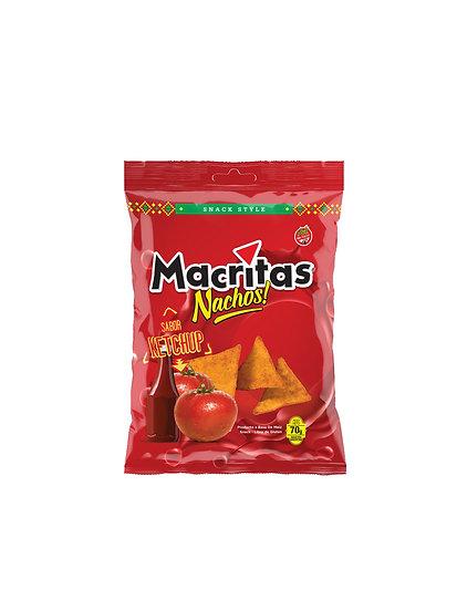 Nachos Mexicanos Ketchup x 70g