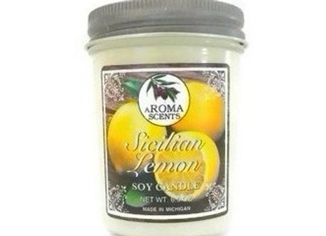 Sicilian Lemon Candle | Soy Candles | Italian Gifts