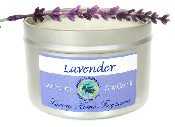 Lavender Essential Oil Candle | Soy Candle | All Natural Candles