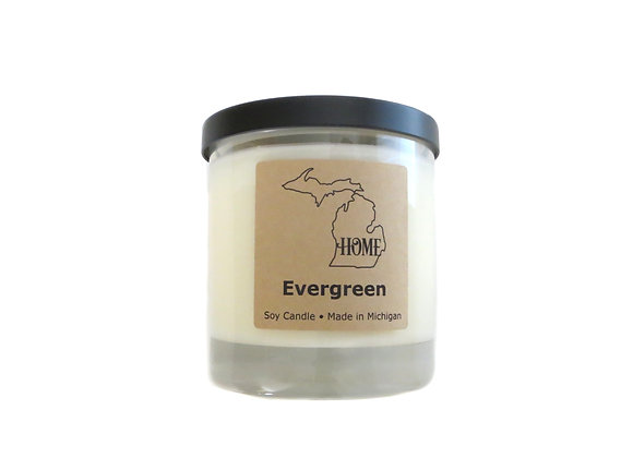 Evergreen Soy Candle | Michigan Soy Candles
