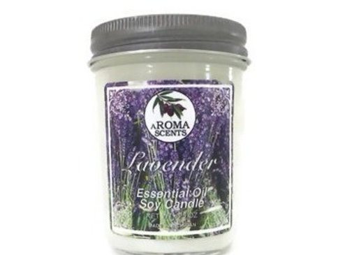 Lavender Soy Candles with Essential Oils