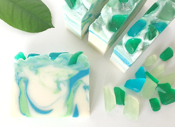 Leelanau Beach Glass Soap | Popular Michigan Soaps | Fresh Scent