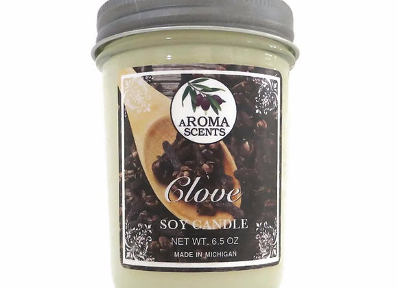 Clove handcrafted soy candles