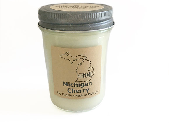 Michigan Cherry Soy Candle | Michigan Soy Candles