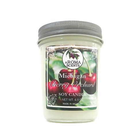 Michigan Cherry Scented Soy Candle