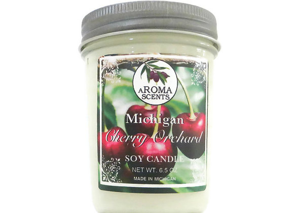 Michigan Made Cherry Scented Soy Candle