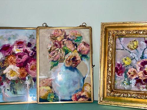 """Print-(3) 5x7"""" floral prints"""