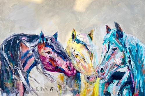 The Three Happy Horses