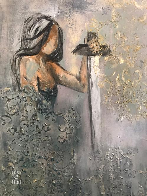 Artemisia on canvas