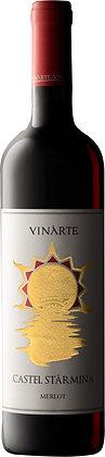 Merlot Castel Starmina VINARTE (box of 6 bottles)