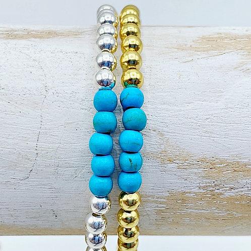 December Birthstone Bracelet - Turquoise