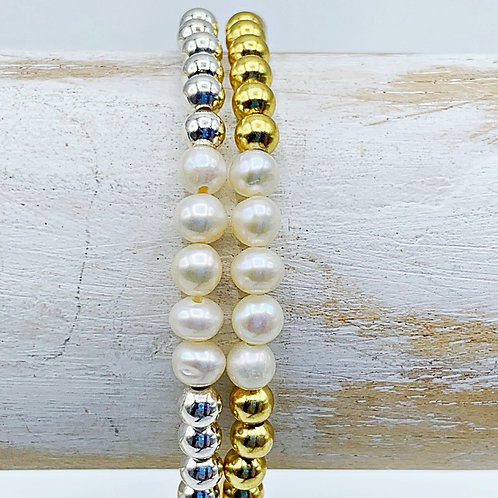 June Birthstone Bracelet - Pearl
