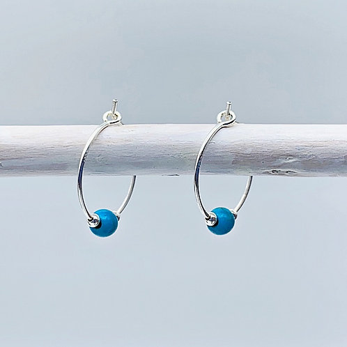 December Birthstone Earrings - Turquoise