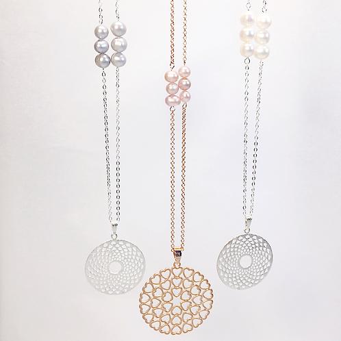 Perles du Lac Mandala Necklace