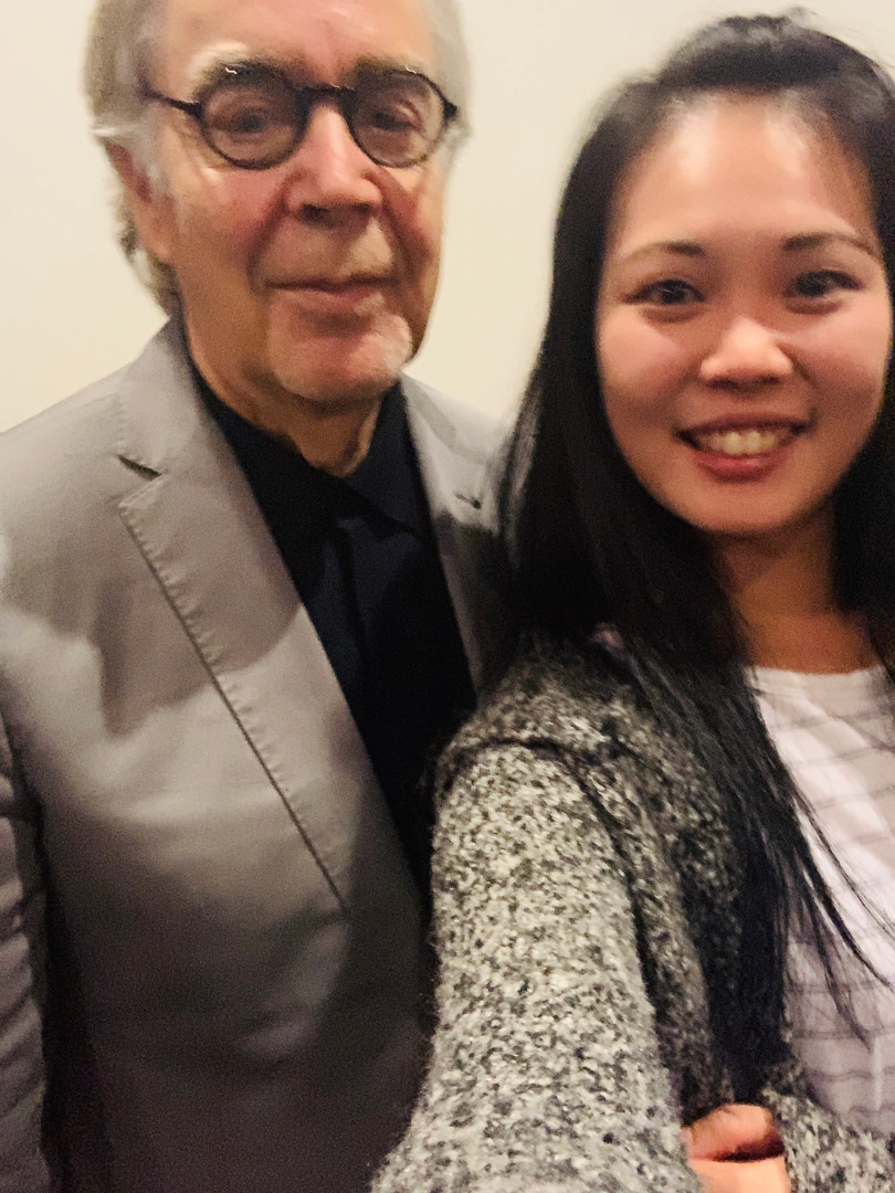 Greeting with Howard Shore, the composer of The Lord of the Rings