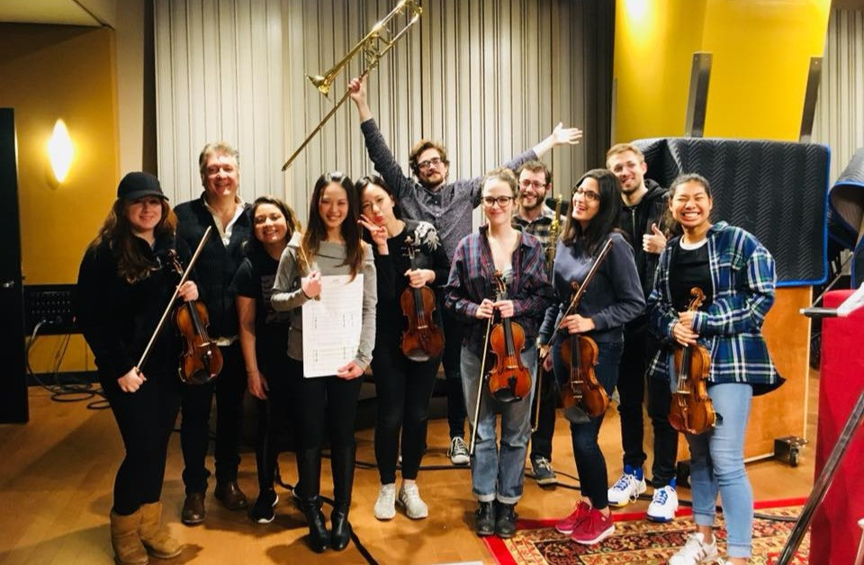 After Record String and Brass Session for Original Orchestral Score