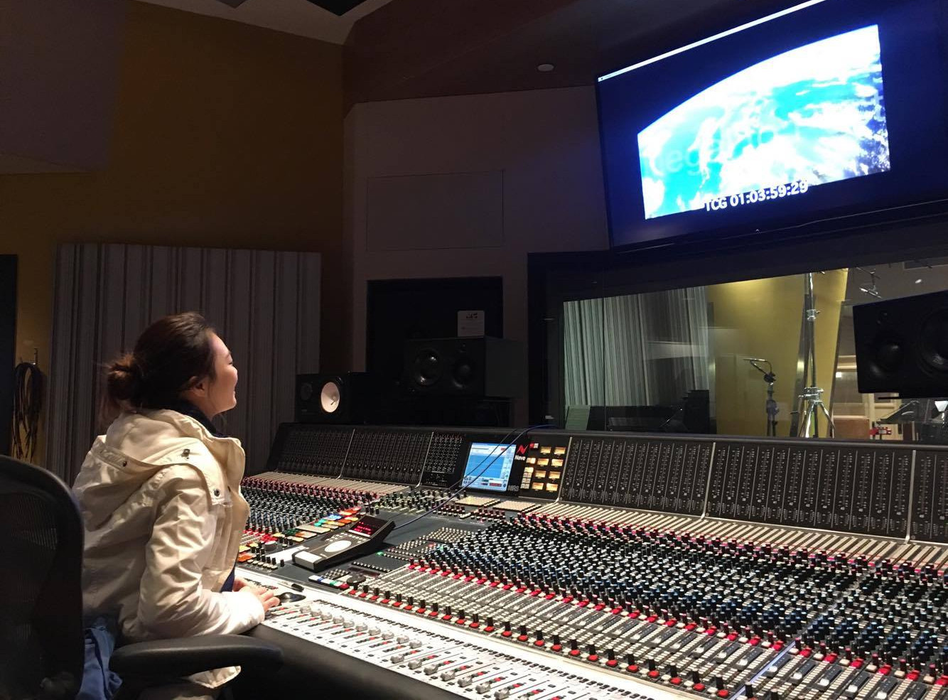 At Mixing Session
