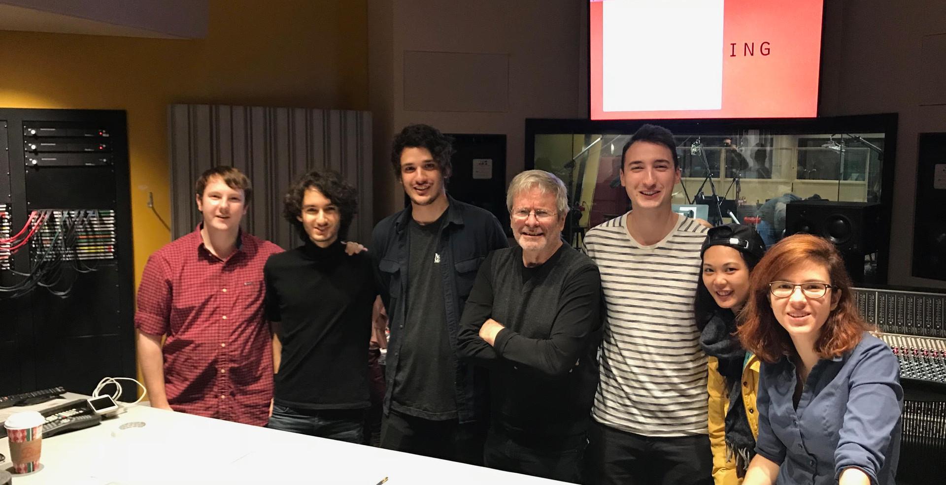 Picture with Grammy Winner George Massen