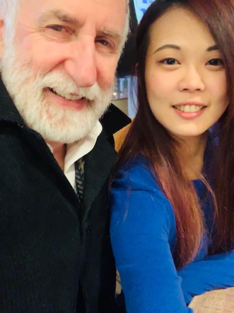 Picture with Eugene Friesen, Grammy Award Winner