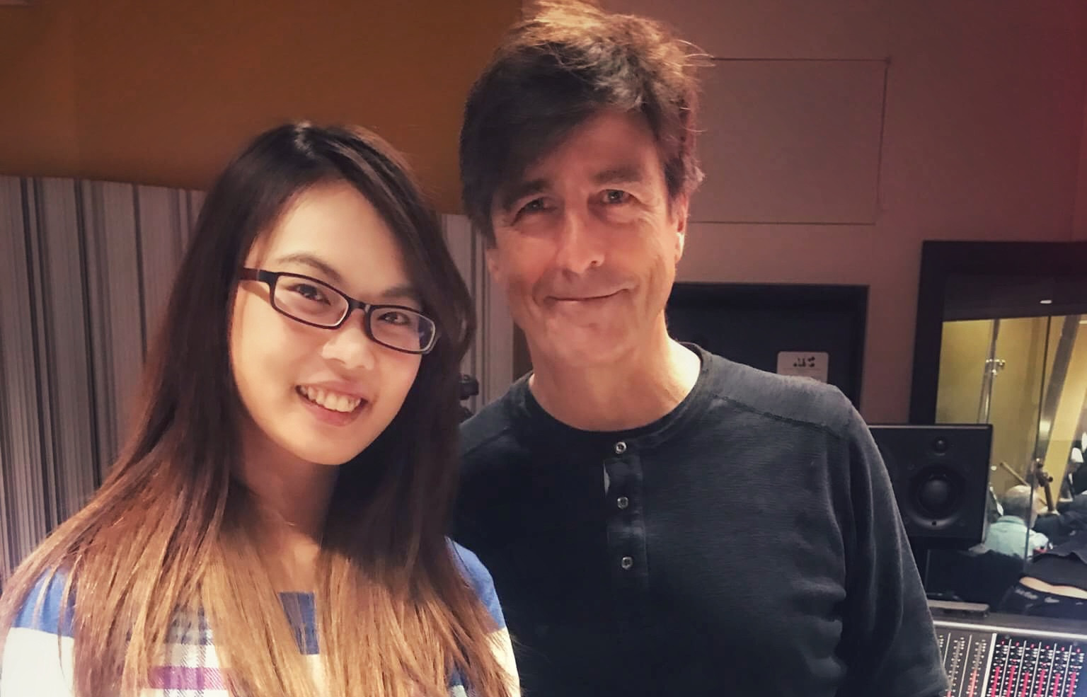 Recording for Thomas Newman, six Grammys and an Emmy Winner