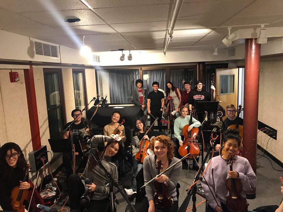 Recording Chamber Music for Short FIlm