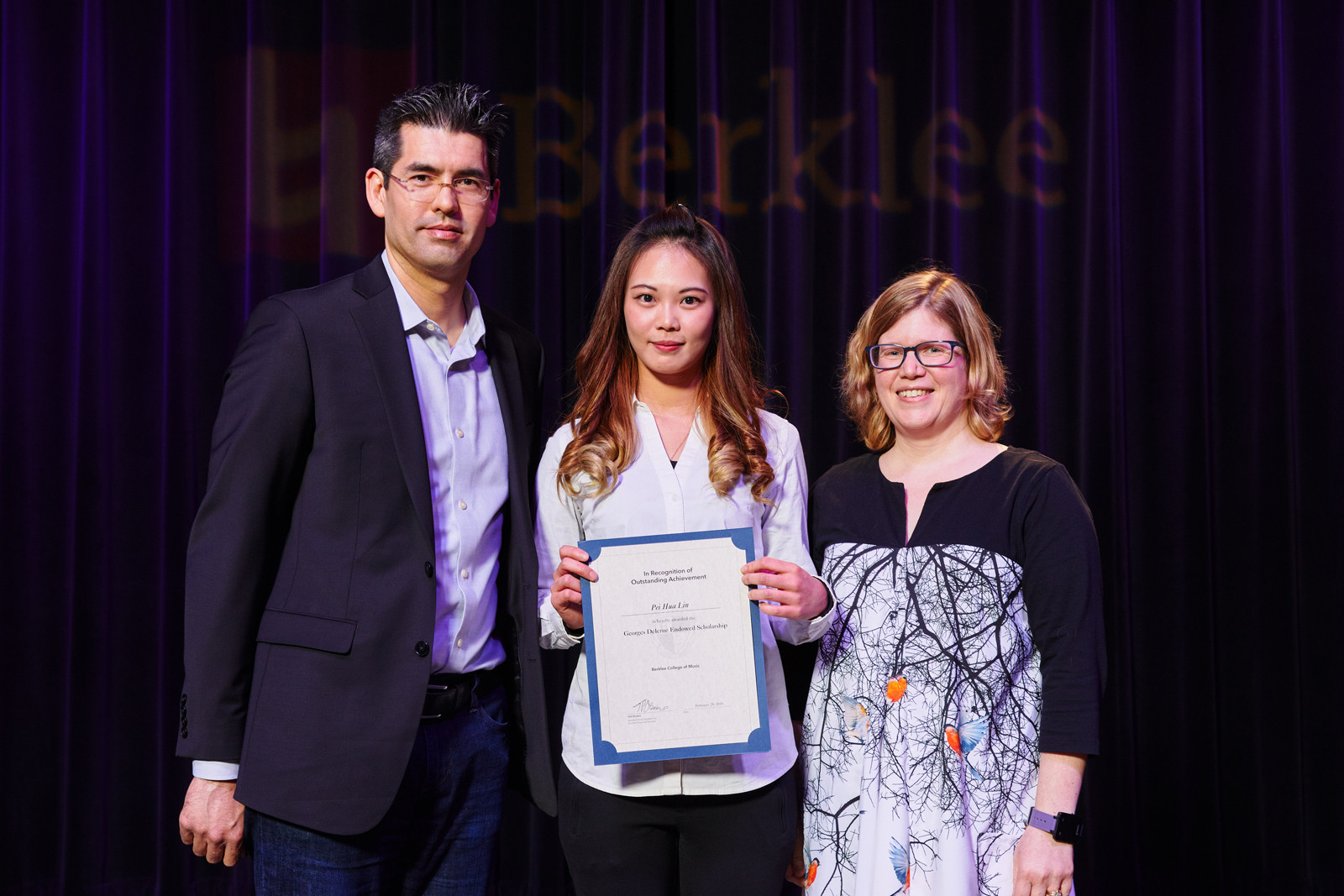 The 2018 Recipient of Georges Delerue Memorial Scholarship Award