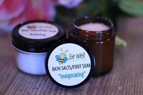 Bath Salts & Foot Soaks