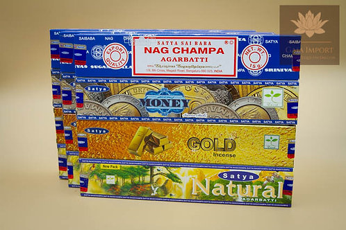 satya nag champa money gold natural