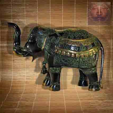 Statue Elephant Grand Modele