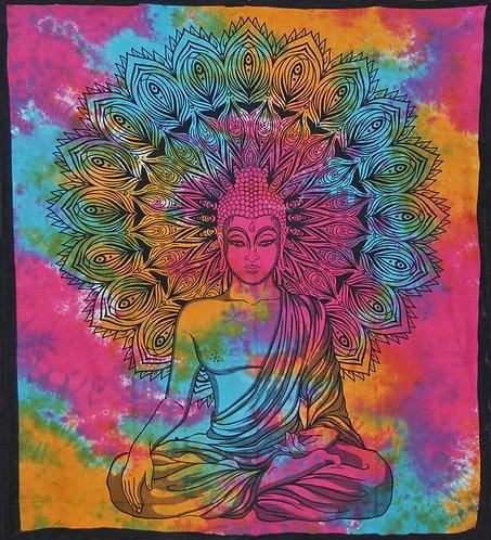 TENTURE BUDDHA MULTICOLORE