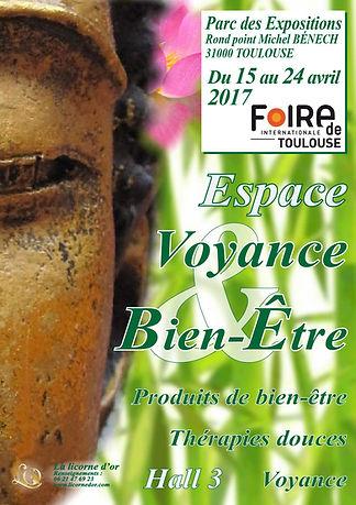 foire international toulouse 2017 Espace Voyance Bien-Etre haute garonne 31