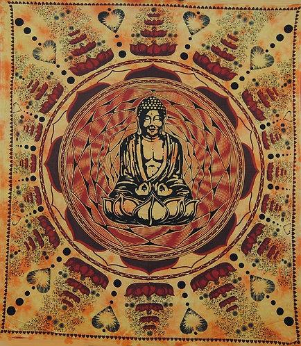 TENTURE BUDDHA LOVE FLOWER JAUNE