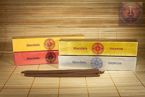 Set 4 Boites Mandala Incense Tibetain
