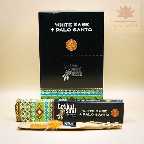 Hari Darshan Tribal Soul Sauge Blanche & Palo Santo gaia import boutique de l'encens