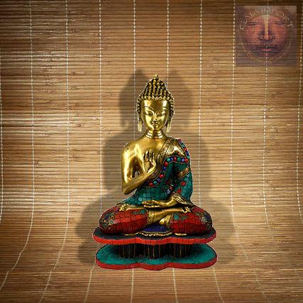 Statue Bouddha Vitarka-Mudra