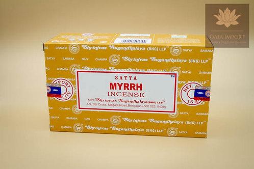 Satya Myrrhe 12x15gr