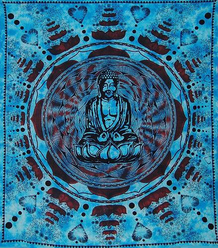 TENTURE BUDDHA LOVE FLOWER BLEU