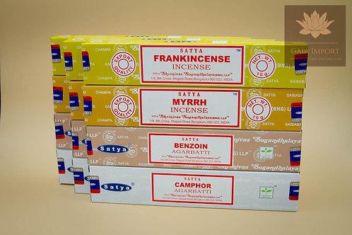 Set satya purification ancient frankincense myrrhe camphre benjoin