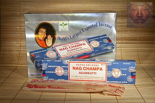 Satya Nag Champa Sai Baba 12x40gr