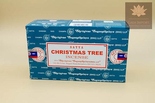 "Satya Arbre de Noël ""Christmas Tree"" boite de 12x15gr"
