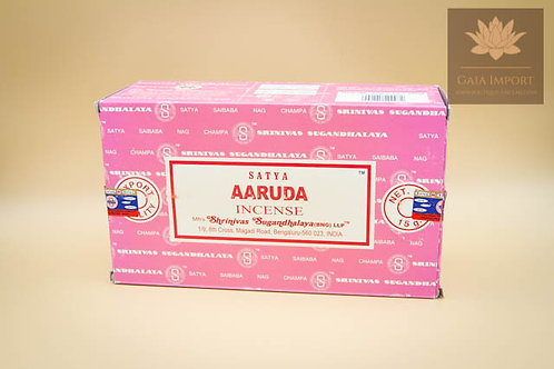 Indian Incense SATYA Nag Champa AARUDA BOX 12x15grs
