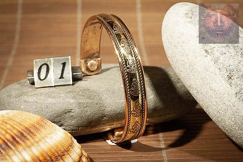 Bracelet cuivre magnétique Inde