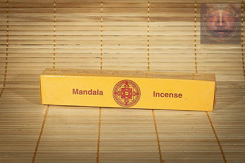 Mandala Incense Marron Relaxation